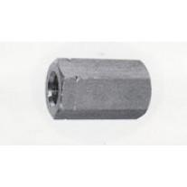 Højemøtrikker 3x diameter DIN6334 A2