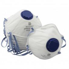 Støvmasker med ventil.10Stk.SAFER FFP2