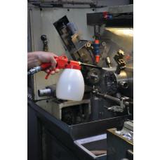 rensepistol, kunststof dyser, 150 mm - beholder 1,2 Liter JWL