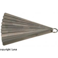 Søgeblade i sæt 0,05-1,00mm 200mm Limit