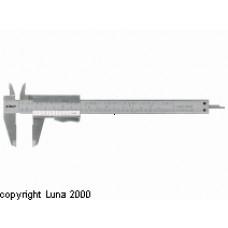 Skydelære 200mm m/trykknap Limit