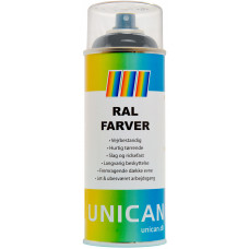 Spray maling Ral 7016 Grafitgrå 400ml
