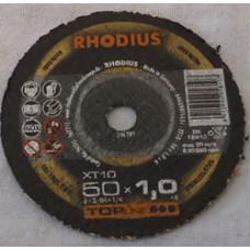 Skæreskive Ø50x1,0x6,0mm XT10 Rhodius