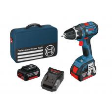 Bosch bore/-skruemaskine akku m/taske+akku+lader