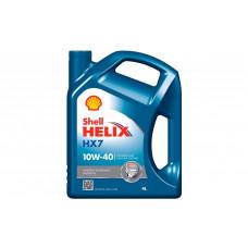 Motorolie 10W-40 SHELL HELIX HX7 4liter