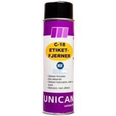 Etiketfjerner C-18 NSF K3 500ml UNICAN