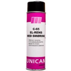 El-rens med smøring C-65 500ml UNICAN