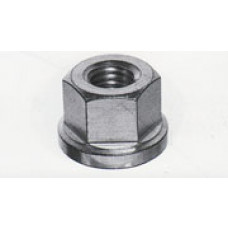Højemøtrikker m/flance 1,5xDiameter A2 DIN6331