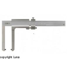 Skydelære til måling af bremseskiver 0-60mm Limit