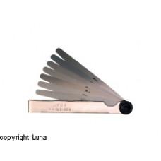 Søgeblade i sæt 0,05-1,00mm 100mm Limit