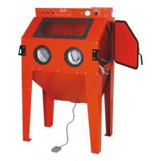Sandblæsekabine SBC350 leveres med udsugning