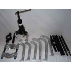 Aftrækkersæt Hydrauilsk 10ton i plast kuffert