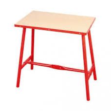 Arbejdsbord Sammenklappelig rød