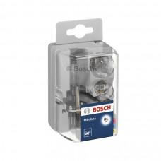 Autohalogenpære H1 Miniboxsæt. Bosch. 12V.