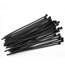 Kabelbinder (Strips) 2,6x200 Sort 100Stk.