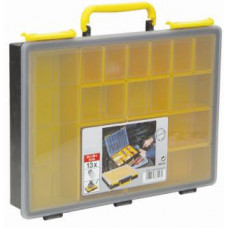 Sortiments kasse m/indstats kasser