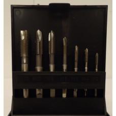 Gevindskæresæt 3-12 mm spånbryder HSS Völkel