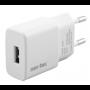 VÆGLADER 230V USB 1,0A NOR-TEC godkendt af Apple