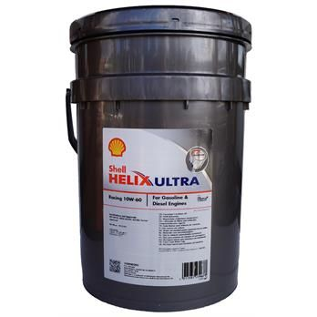 Motorolie 10W-60 SHELL HELIX ULTRA RACING 20liter